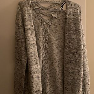 Holiday Steal! Size S backbone sweater cardigan